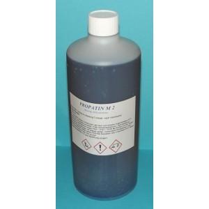 Propatin M 2  Schwarzbeize für Messing  1 l in PE-Flasche